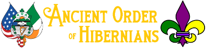 Ancient Order of Hibernians Louisiana Logo